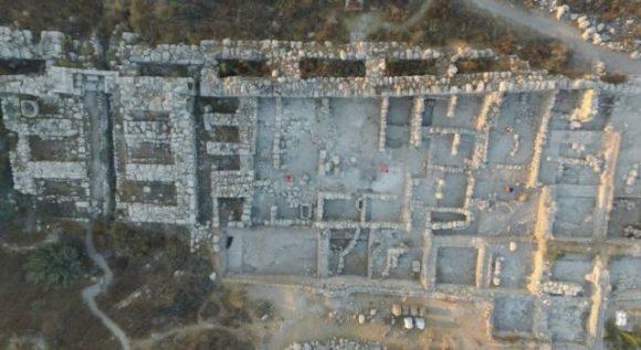 Guld och silver har hittats i Tel Gezer