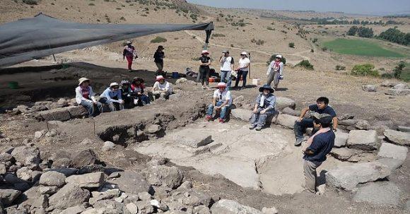 Synagoga i Galiléen daterad till 2:a Tempelperioden