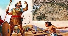 Platsen för Davids kamp mot Goliat