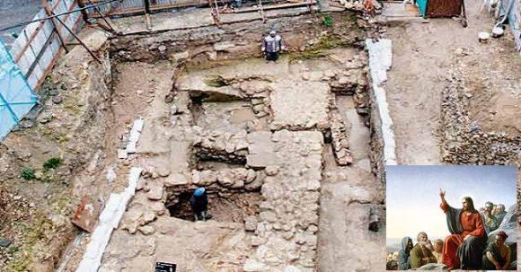 Jesus barndomshus upptäckt i Israel?