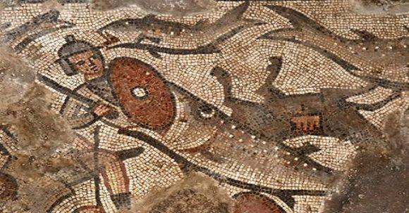 Mosaik med Noaks ark