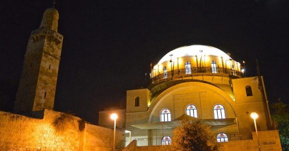 Synagogan Hurva i Jerusalem