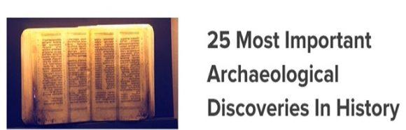 Video: De 25 mest viktiga arkeologiska upptäckterna