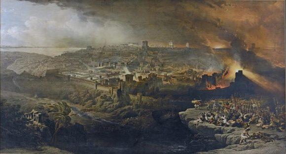 Arkeologer bekräftar Bibelns berättelse om att Jerusalem brändes