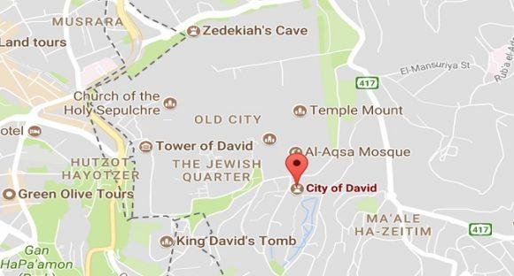 En promenad i Davids stad