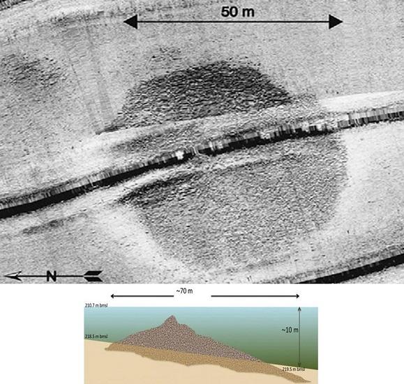 60 000 ton tungt monument under havsbottnen av Genesarets sjö